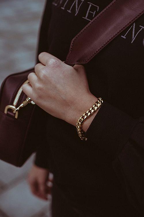 Cuban Chain Bracelet Gold