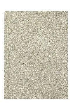 Glitter Notebook A6 Silver
