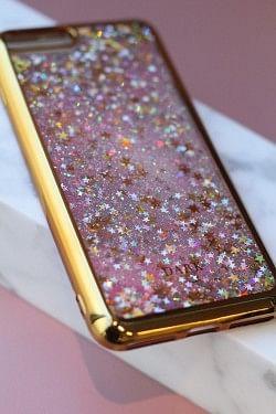 Mobile Cover iPhone 7+ Stjerner Gull