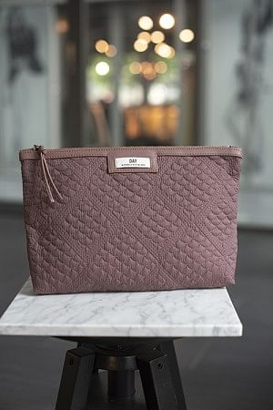 Gweneth Q Topaz Small Rose Taupe