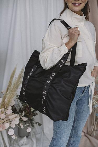GW Sporty Logo Bag Black