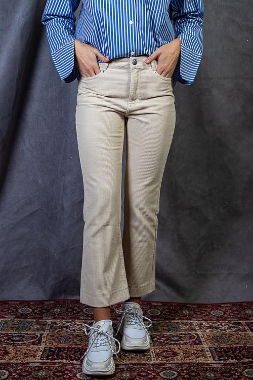 Kadife Jeans Ivory