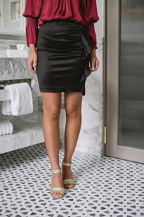 Sensation Skirt Black