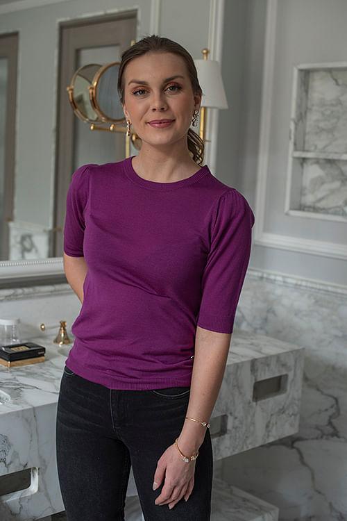 Whitney Shortsleeve Day Birger Et Mikkelsen t-skjorte lilla
