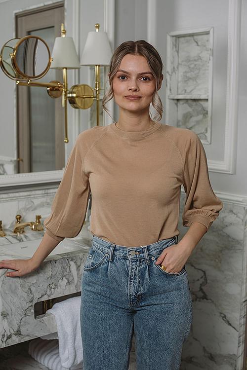 Day Birger Et Mikkelsen Whitney 3/4 Sleeve India T-skjorte