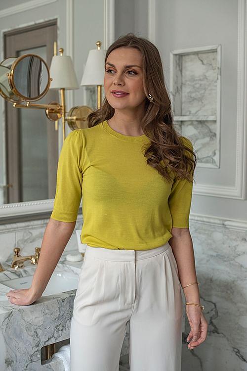 Day Birger et Mikkelsen Whitney Sweet Lime T-skjorte