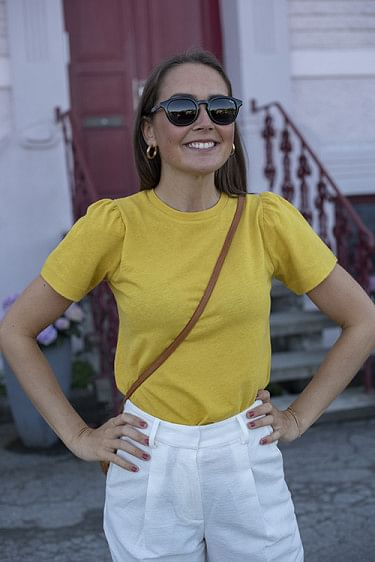 Carina T-Shirt Ceylon Yellow
