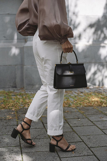 Casual Trouser White Fog