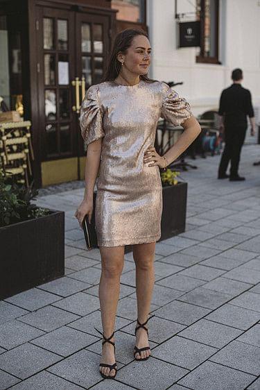 Glitter Dress Smoke