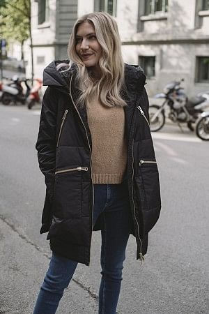 Justine Down Jacket Black