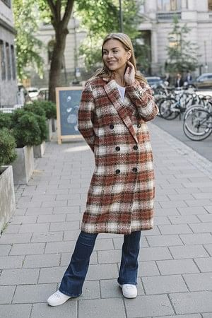 Komsu Coat Rosetto