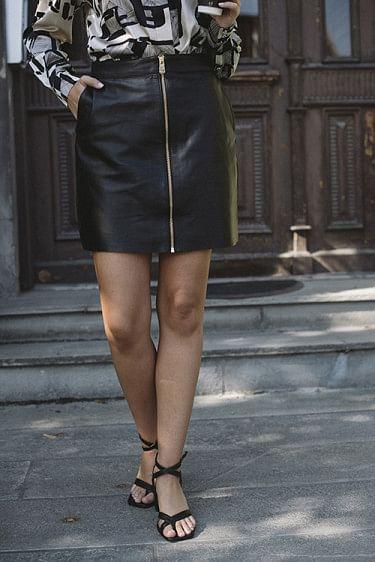 Today Skirt Black