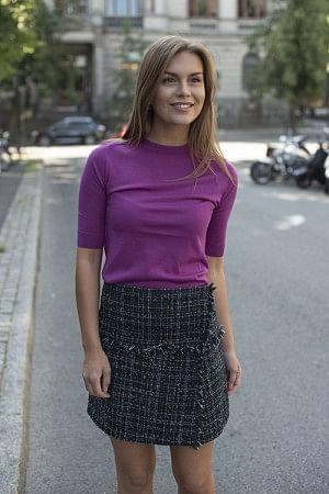 Whitney Short Sleeves Trifoglio