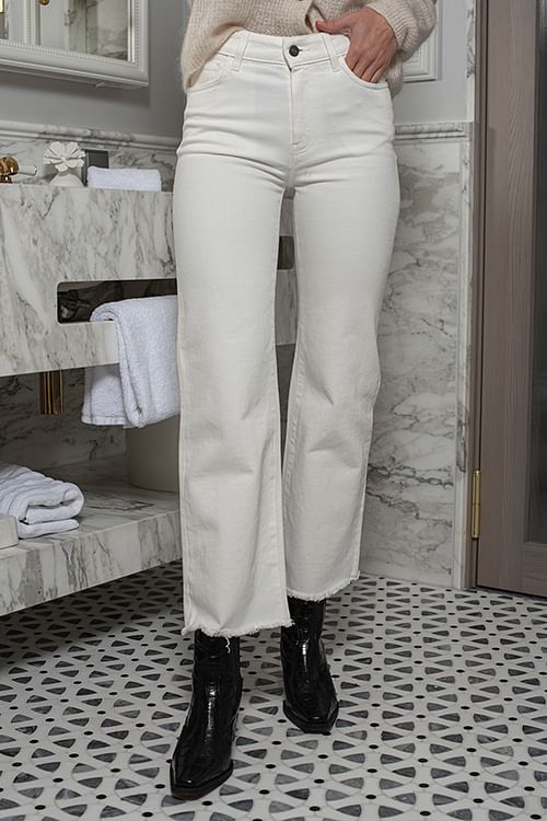 Designers Remix Bellis Jeans Cream bukse