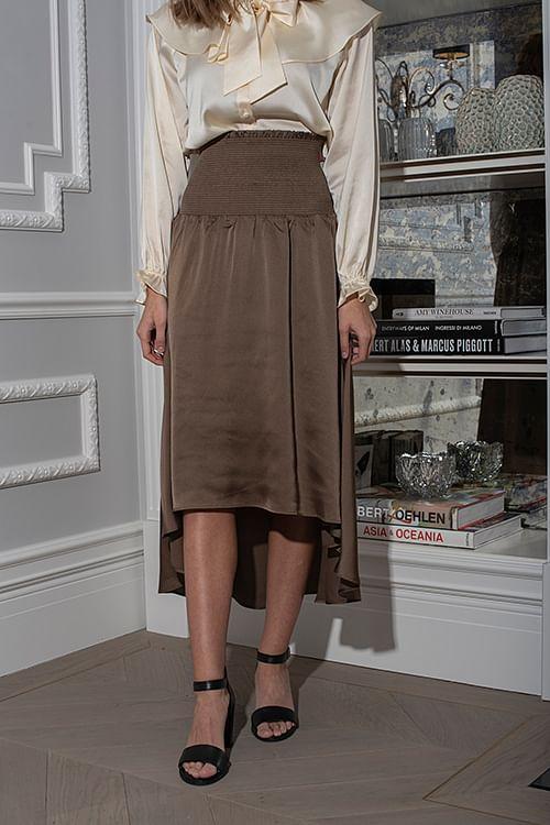 Lauren Long Skirt Khaki
