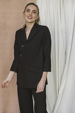 Babette Decon Blazer Black