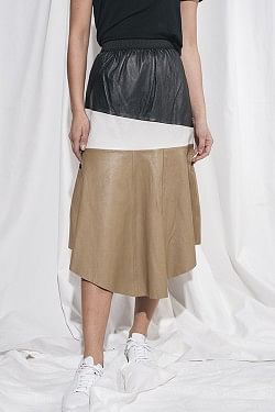 Erin Layer Skirt Lb Colour Blocked