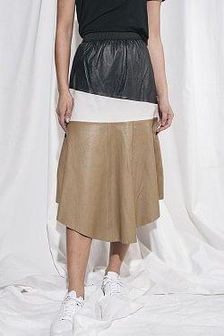Erin Layer Skirt Lb Colour Blocked