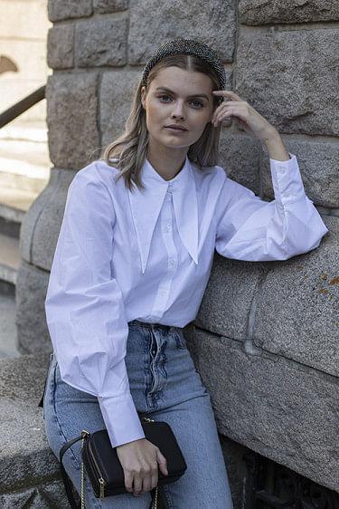 Andrew Collar Shirt White