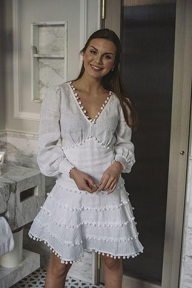 Eline Linen Dress
