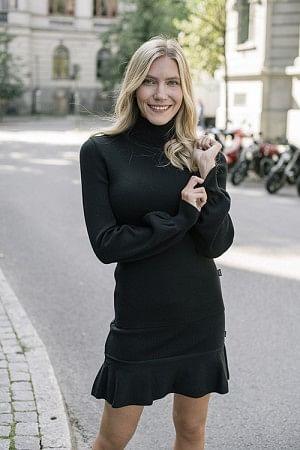 Rosie Merino Sweater Black