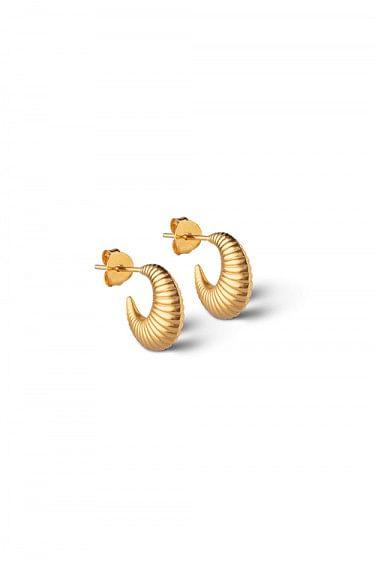Cornelia Small Hoops Gold