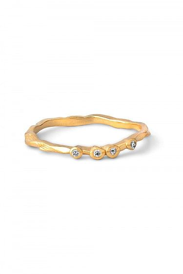 Lily Ring Gold
