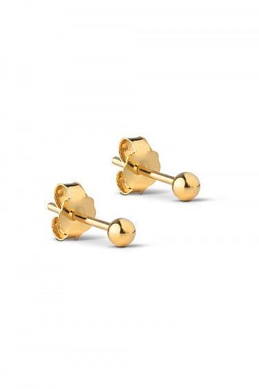 Stud Beads 3MM Gold