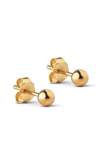 Stud Beads 4MM Gold