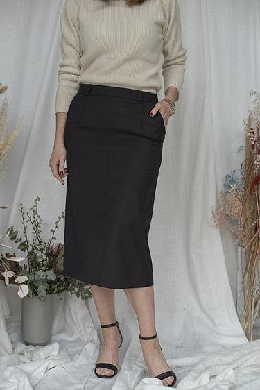 Cameo Skirt Black