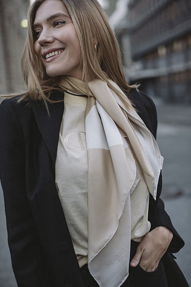 Kairo Silk Multi Beige