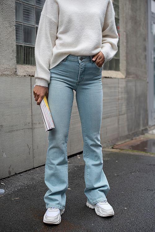 Fiveunits Naomi 241 Sky Blue Auto jeans
