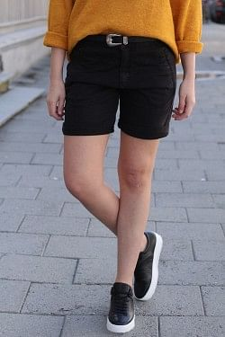 Jolie Shorts Black Bias