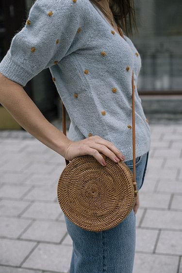 Rolling Roundie Bag Ata Natural
