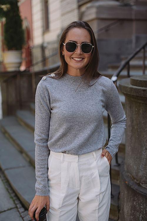 Cashmere Knit Sweater Paloma Melange
