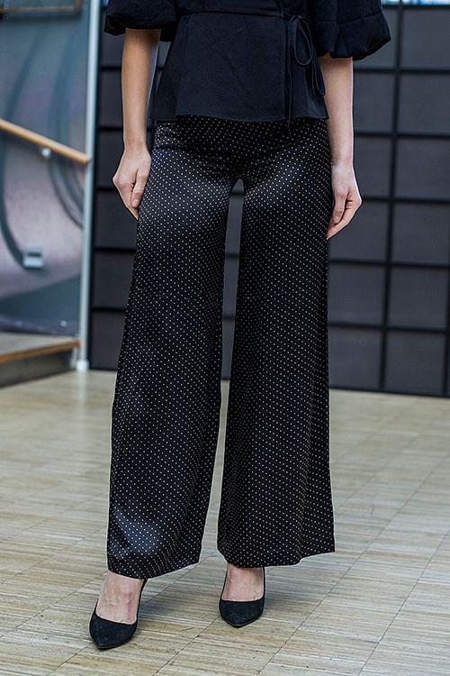 GANNI Cameron Pants Black bukser