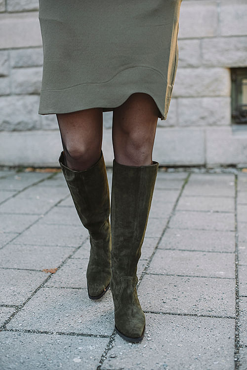 Western Knee High Boots Kalamata