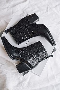 Callie Ankle Boots Black