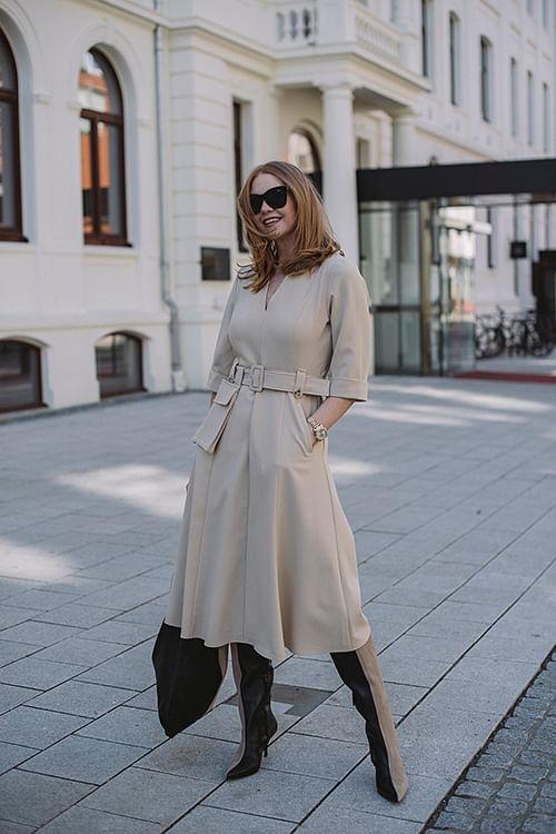 Gestuz Reem Dress Safari kjole