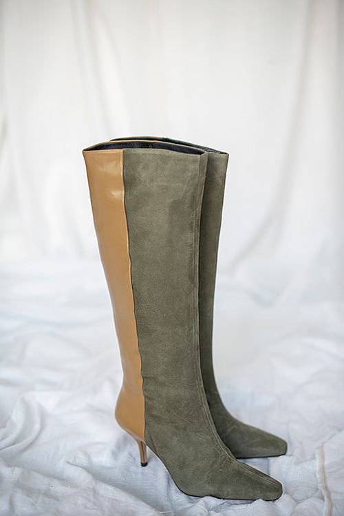 Gestuz Shira Boots Dark Olive støvletter