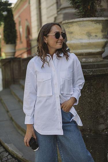 Canna Shirt Bright White