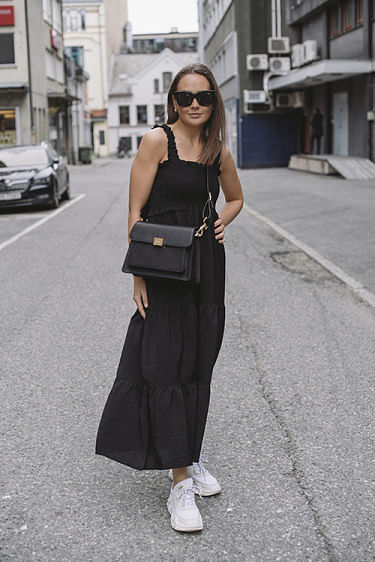 Mazzi Dress Black
