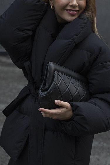Velda Quilted Bag Black