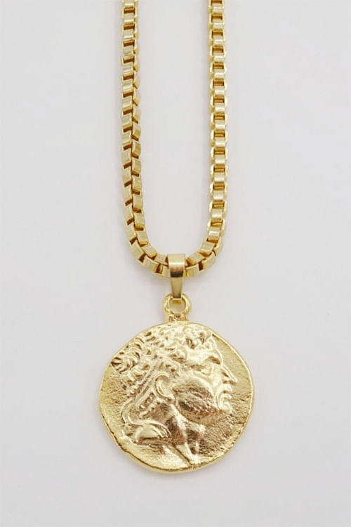 Goldmine Alexander The Great Necklace smykke