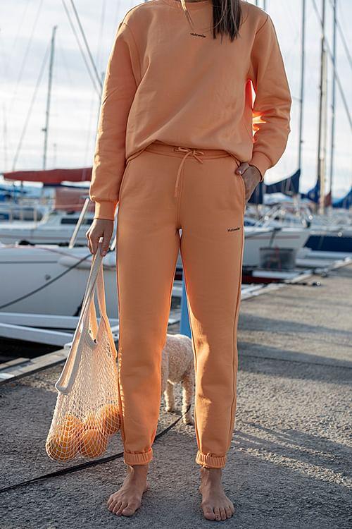 Holzweiler Gabby Trouser Orange joggebukse