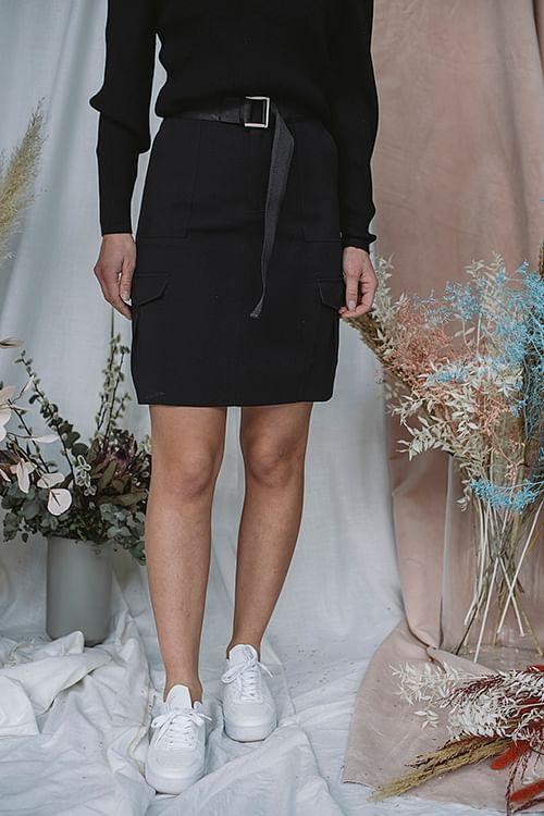 Stranda Skirt Black
