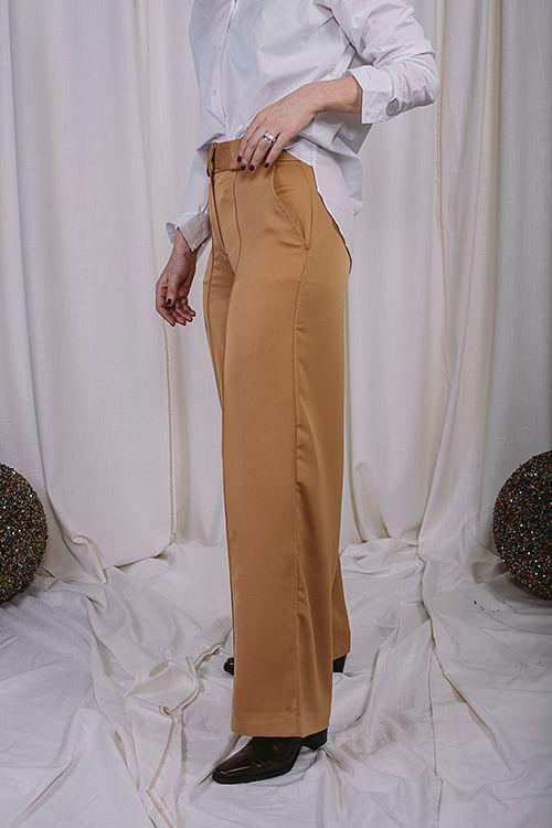 Holzweiler Soft Trousers Camel bukser