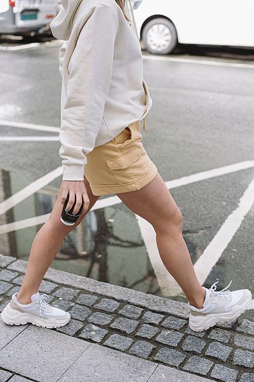 Holzweiler Tray Shorts Yellow