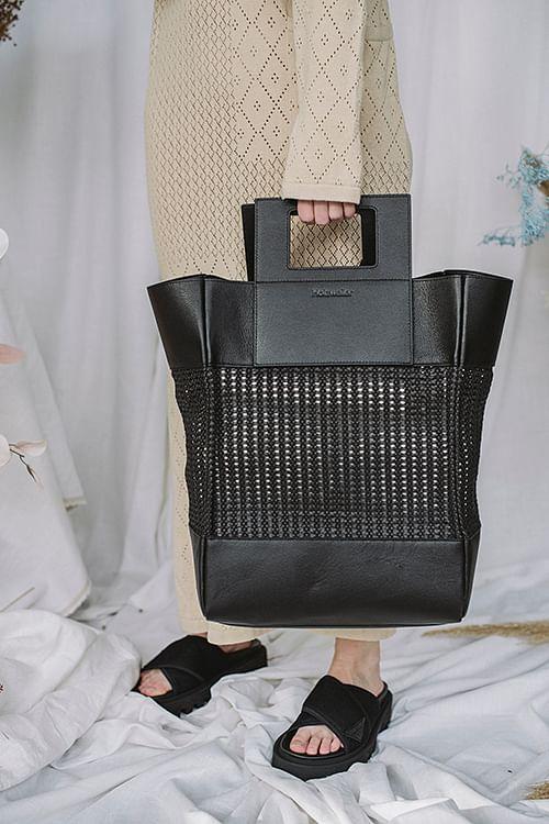 Holzweiler Treasure Big Bag Black veske tote
