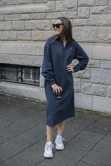 Bislett Dress Navy